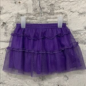 Other - Purple Sparkly Tulle Skort